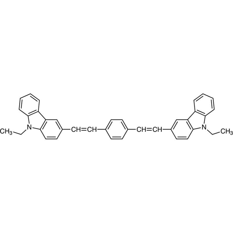 1,4-Bis[2-(9-ethylcarbazol-3-yl)vinyl]benzene