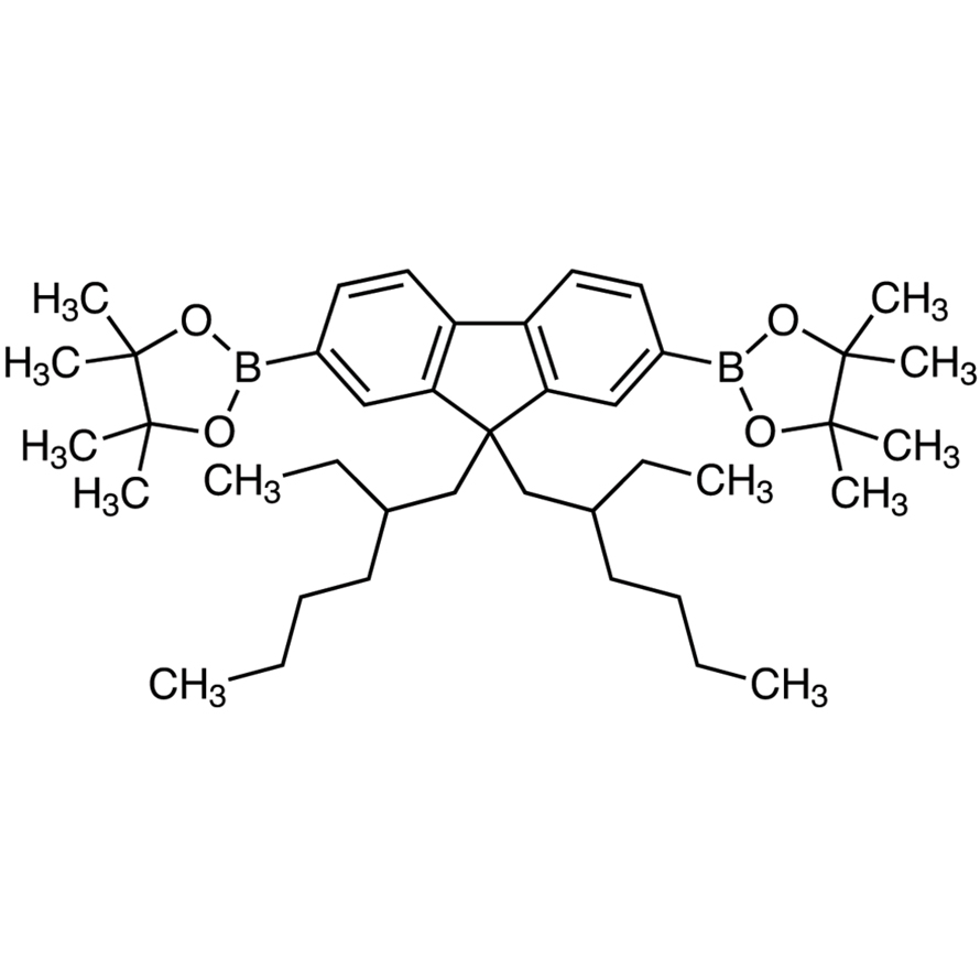9,9-Bis(2-ethylhexyl)-2,7-bis(4,4,5,5-tetramethyl-1,3,2-dioxaborolan-2-yl)fluorene