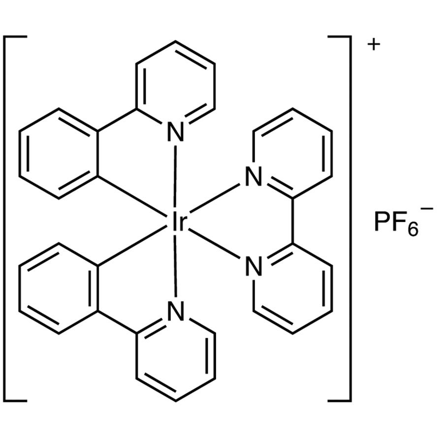 (2,2'-Bipyridine)bis(2-phenylpyridinato)iridium(III) Hexafluorophosphate