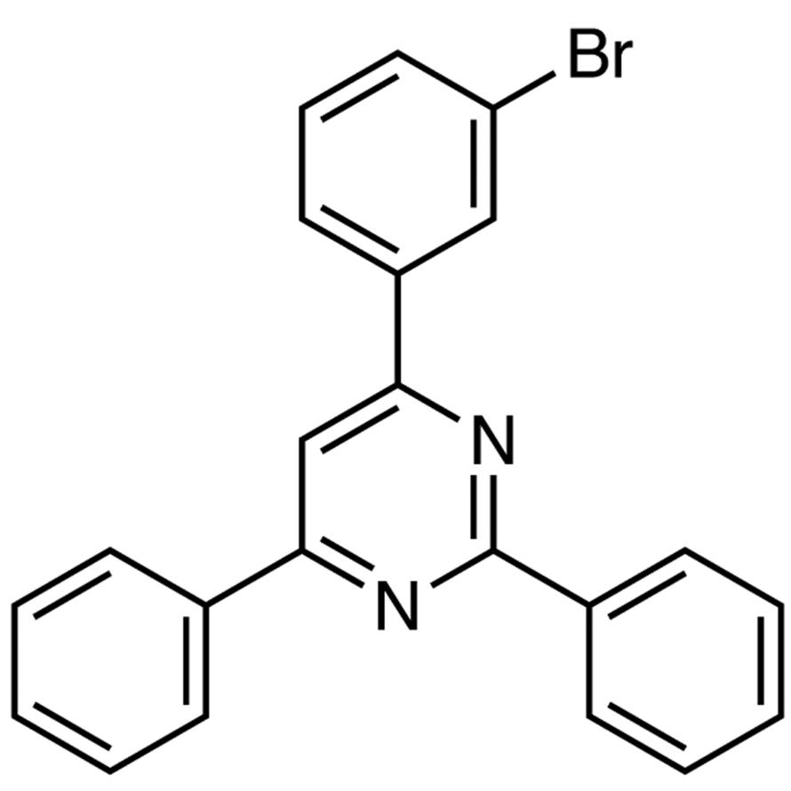 4-(3-Bromophenyl)-2,6-diphenylpyrimidine