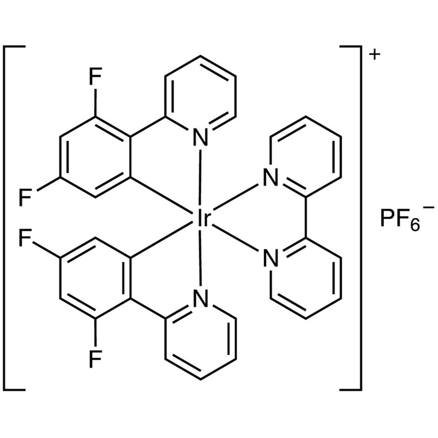 (2,2'-Bipyridine)bis[2-(2,4-difluorophenyl)pyridine]iridium(III) Hexafluorophosphate