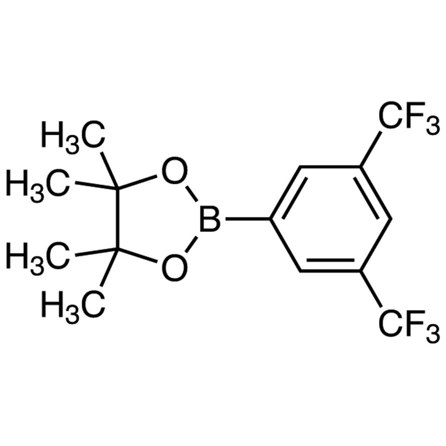 2-[3,5-Bis(trifluoromethyl)phenyl]-4,4,5,5-tetramethyl-1,3,2-dioxaborolane