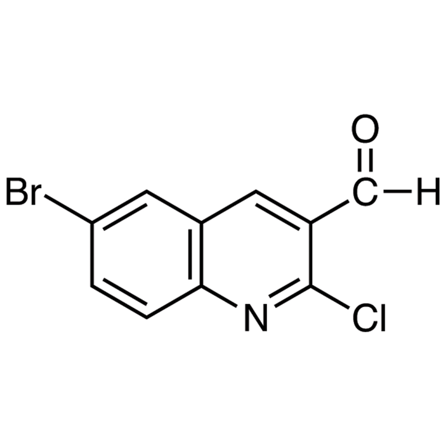 6-Bromo-2-chloroquinoline-3-carboxaldehyde