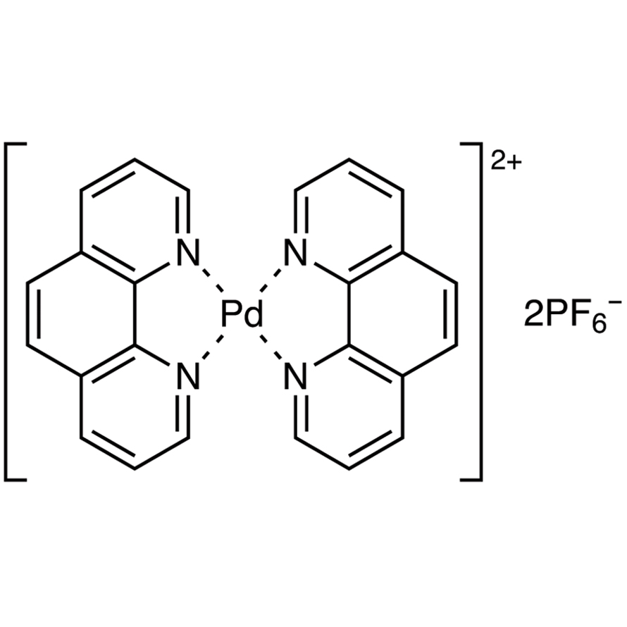 Bis(1,10-phenanthroline)palladium(II) Bis(hexafluorophosphate)