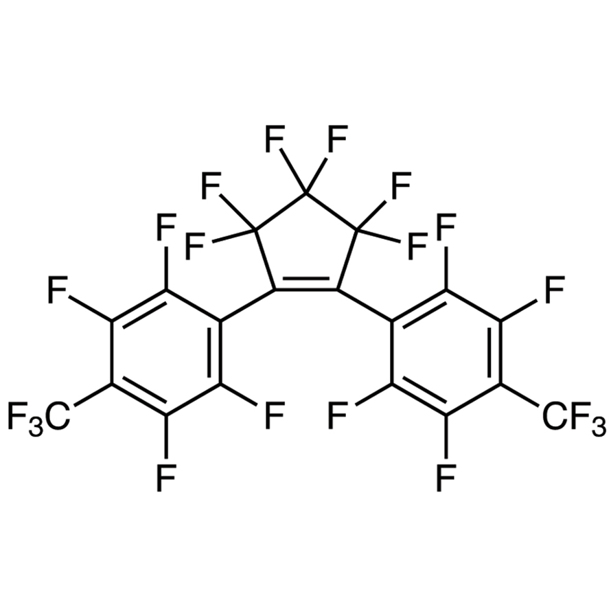 1,2-Bis[2,3,5,6-tetrafluoro-4-(trifluoromethyl)phenyl]-3,3,4,4,5,5-hexafluoro-1-cyclopentene