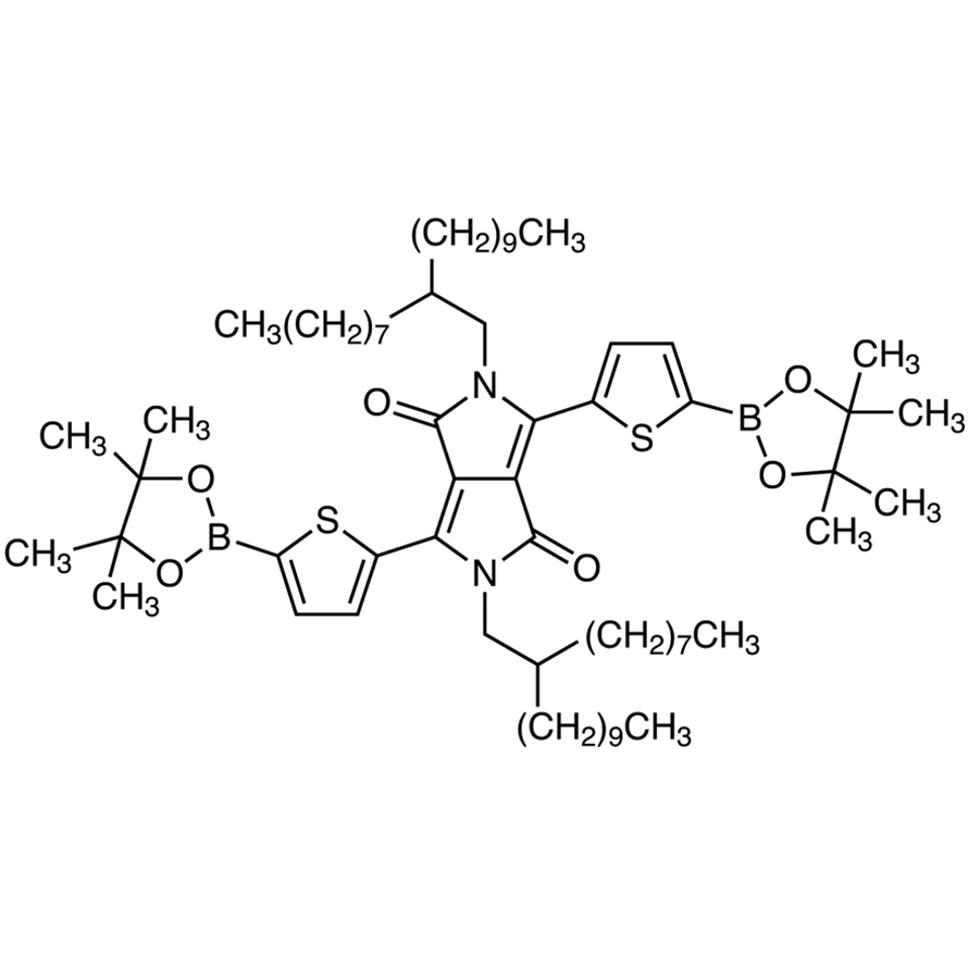 2,5-Bis(2-octyldodecyl)-3,6-bis[5-(4,4,5,5-tetramethyl-1,3,2-dioxaborolan-2-yl)thiophen-2-yl]pyrrolo[3,4-c]pyrrole-1,4(2H,5H)-dione