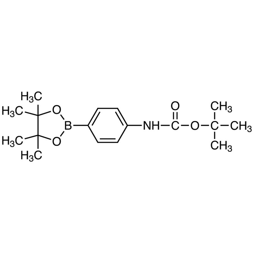 N-(tert-Butoxycarbonyl)-4-(4,4,5,5-tetramethyl-1,3,2-dioxaborolan-2-yl)aniline