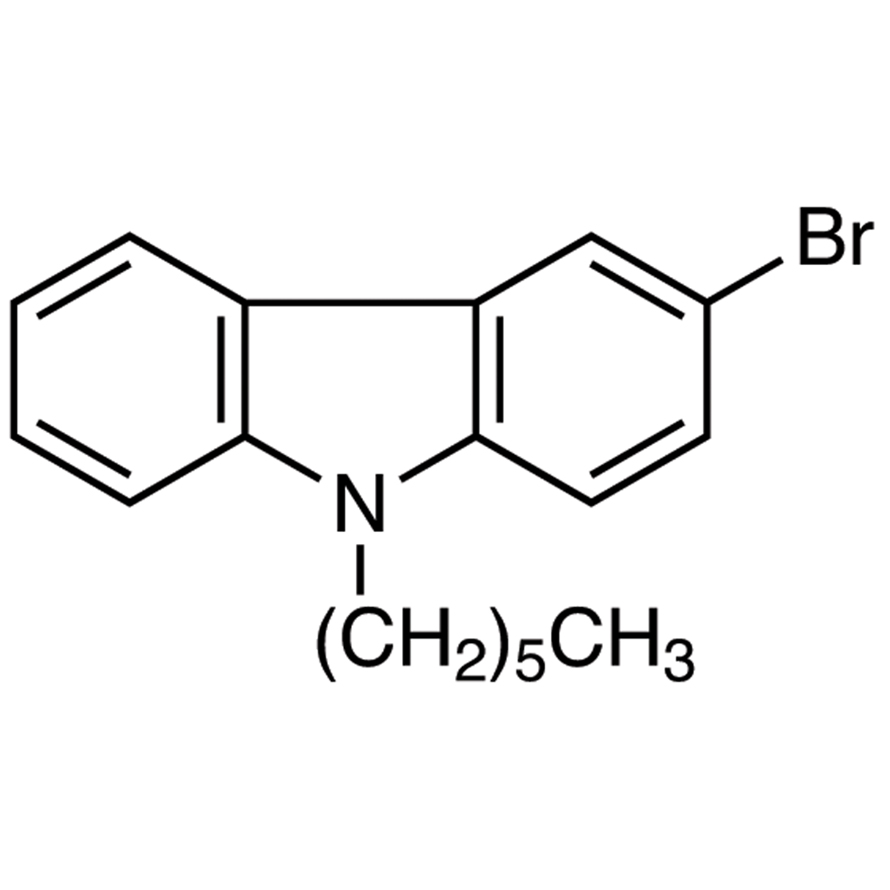 3-Bromo-9-hexyl-9H-carbazole