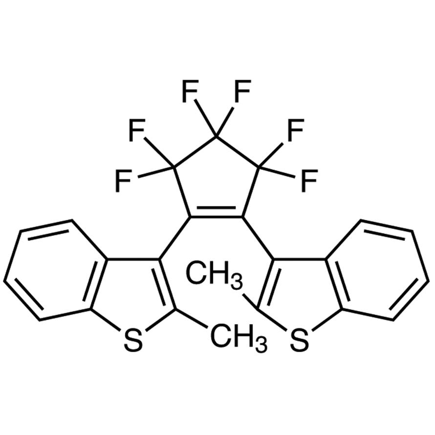 1,2-Bis[2-methylbenzo[b]thiophen-3-yl]-3,3,4,4,5,5-hexafluoro-1-cyclopentene (purified by sublimation)