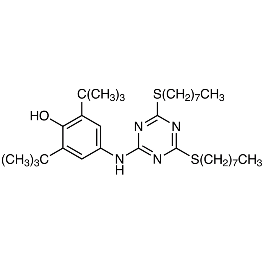 4-[[4,6-Bis(n-octylthio)-1,3,5-triazin-2-yl]amino]-2,6-di-tert-butylphenol