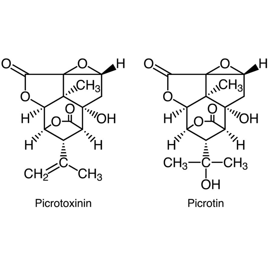 Picrotoxin (Picrotoxinin + Picrotin)