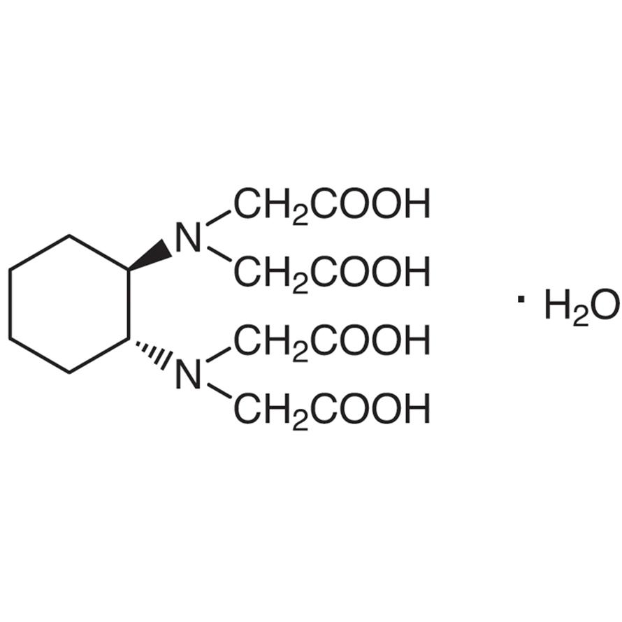 trans-1,2-Cyclohexanediaminetetraacetic Acid Monohydrate