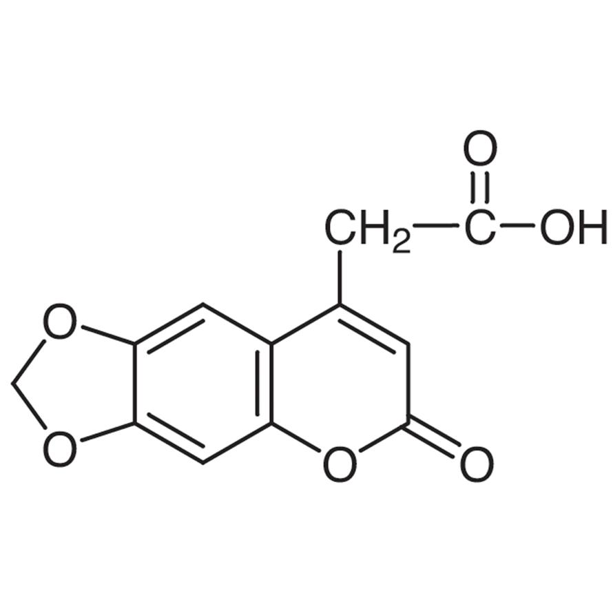 4-Carboxymethyl-6,7-methylenedioxycoumarin
