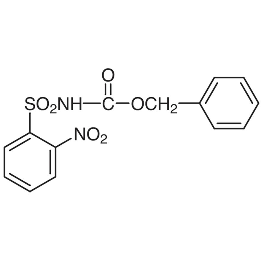 N-Benzyloxycarbonyl-2-nitrobenzenesulfonamide