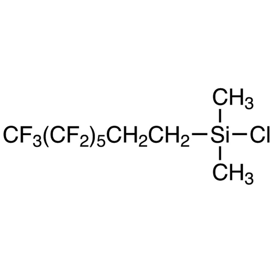 Chlorodimethyl(3,3,4,4,5,5,6,6,7,7,8,8,8-tridecafluoro-n-octyl)silane