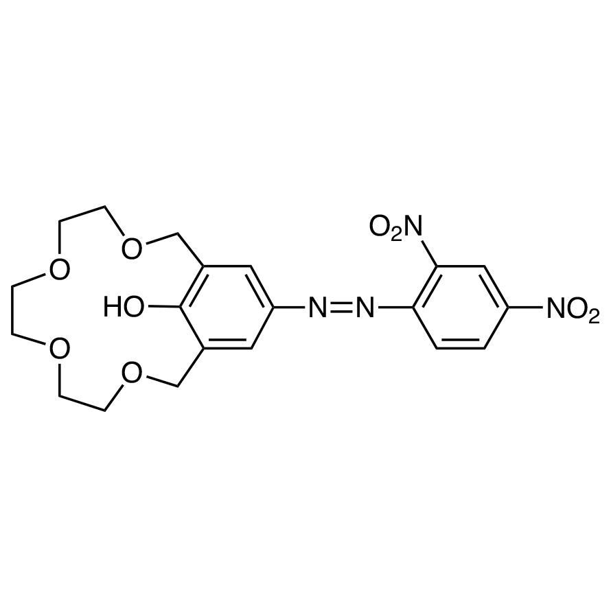 15-Crown-4 [4-(2,4-Dinitrophenylazo)phenol]