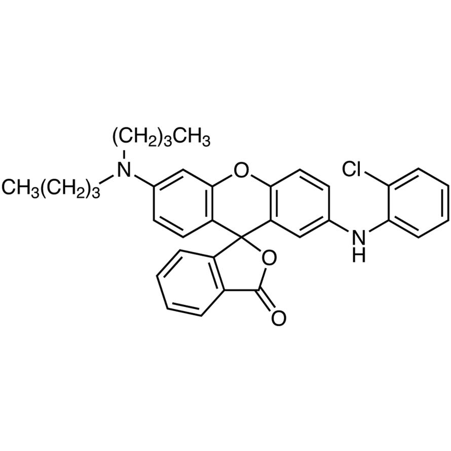 2'-(2-Chloroanilino)-6'-(dibutylamino)fluoran
