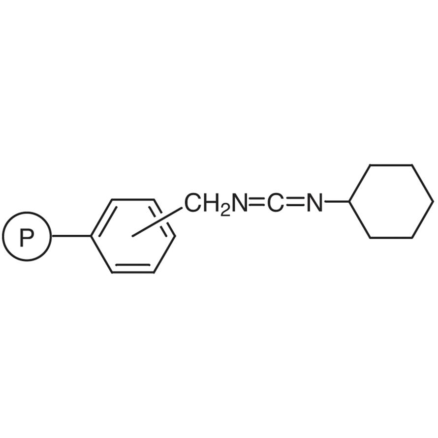N-Cyclohexylcarbodiimidomethyl Polystyrene Resin cross-linked with 1% DVB (50-100mesh) (1.4-1.6mmol/g)