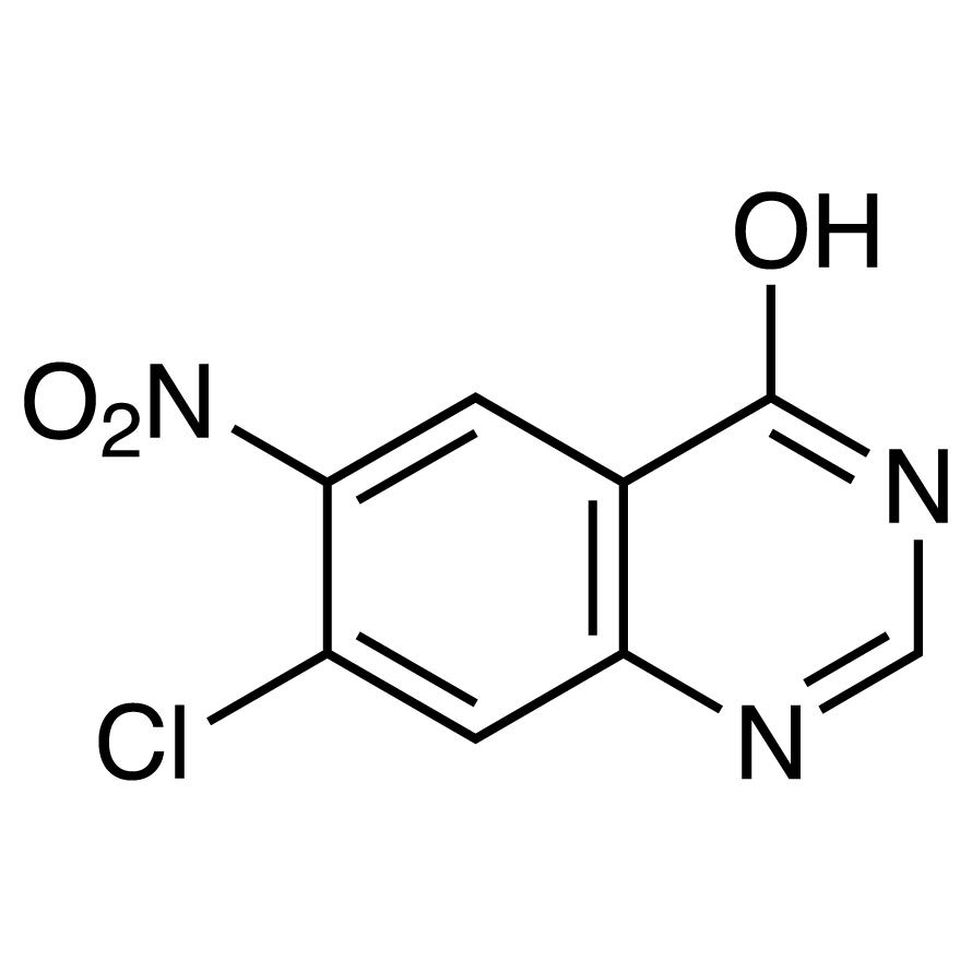 7-Chloro-6-nitro-4-hydroxyquinazoline