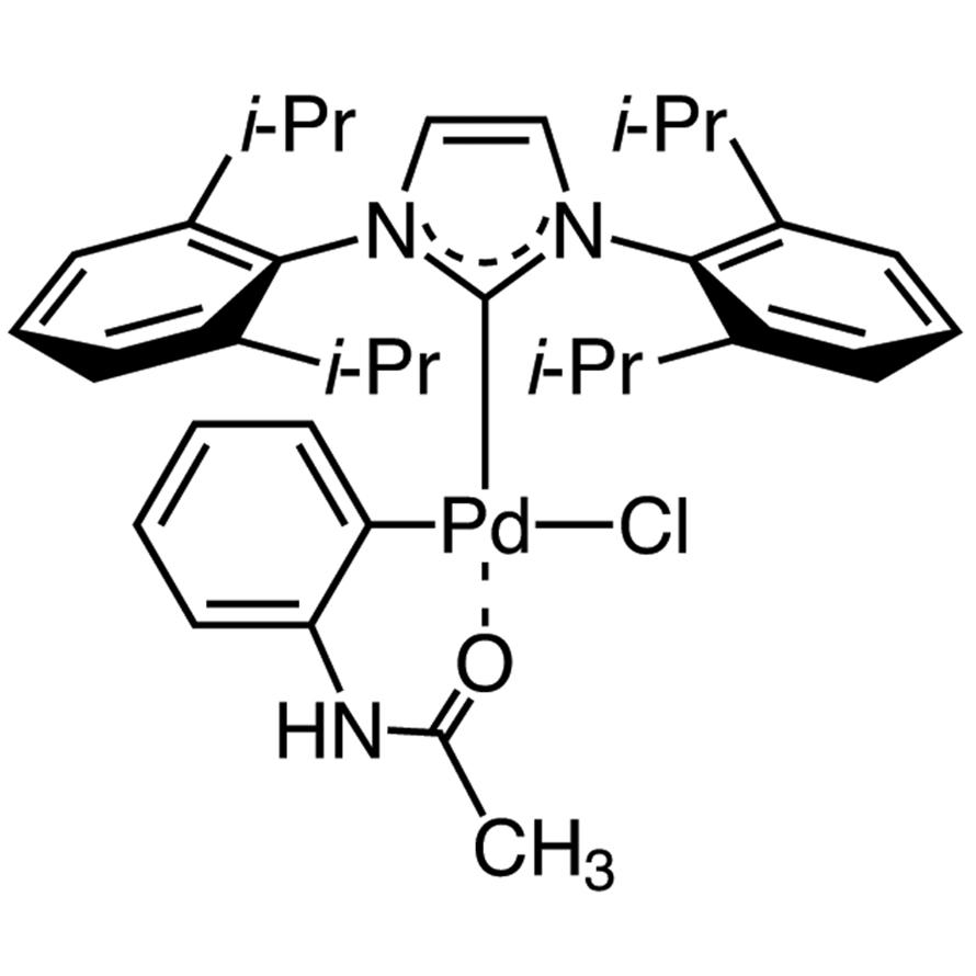 Chloro[[1,3-bis(2,6-diisopropylphenyl)imidazol-2-ylidene](acetanilide)palladium(II)]