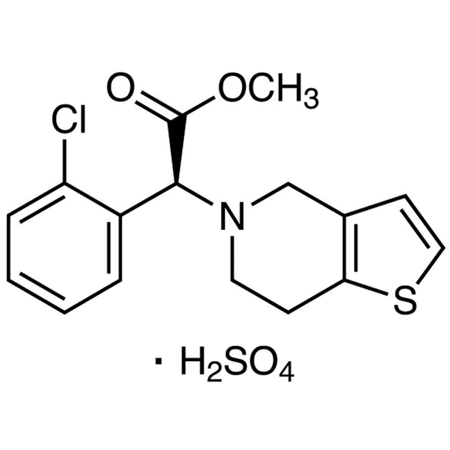 (S)-(+)-Clopidogrel Sulfate