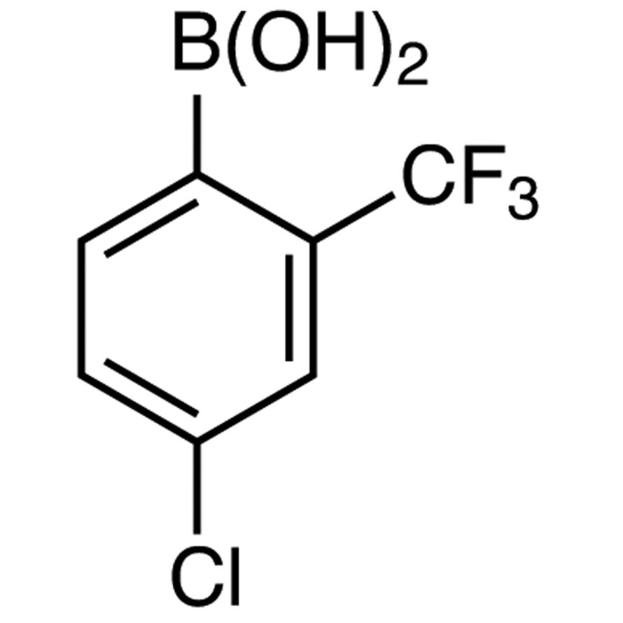 4-Chloro-2-(trifluoromethyl)phenylboronic Acid (contains varying amounts of Anhydride)