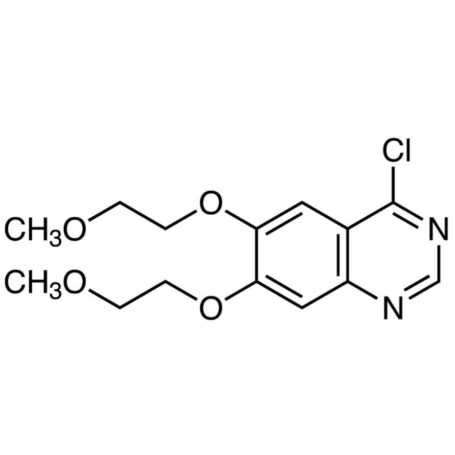 4-Chloro-6,7-bis(2-methoxyethoxy)quinazoline