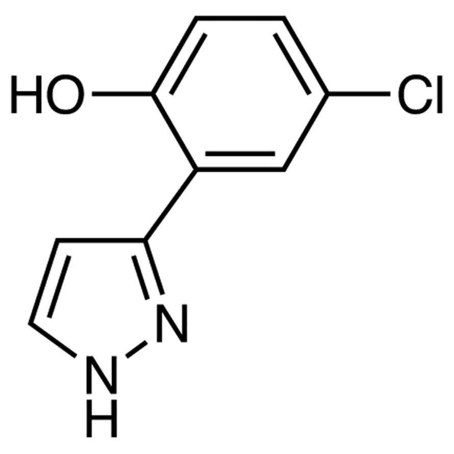 4-Chloro-2-(1H-pyrazol-3-yl)phenol