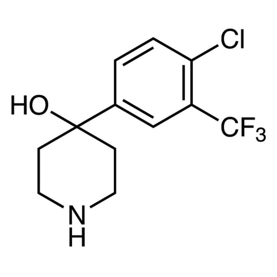 4-[4-Chloro-3-(trifluoromethyl)phenyl]-4-hydroxypiperidine