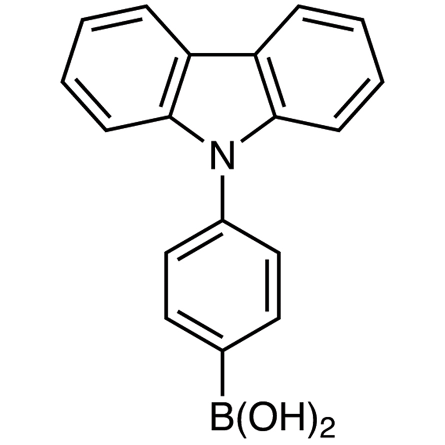 4-(9H-Carbazol-9-yl)phenylboronic Acid (contains varying amounts of Anhydride)