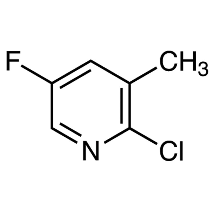 2-Chloro-5-fluoro-3-methylpyridine