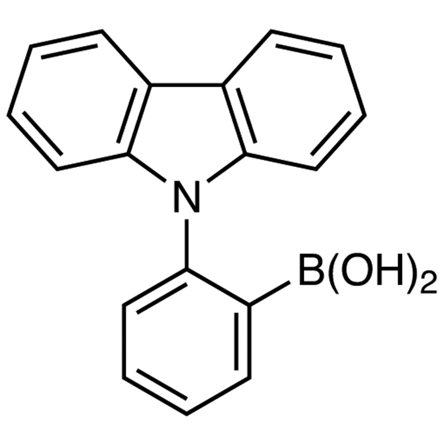 2-(9H-Carbazol-9-yl)phenylboronic Acid (contains varying amounts of Anhydride)