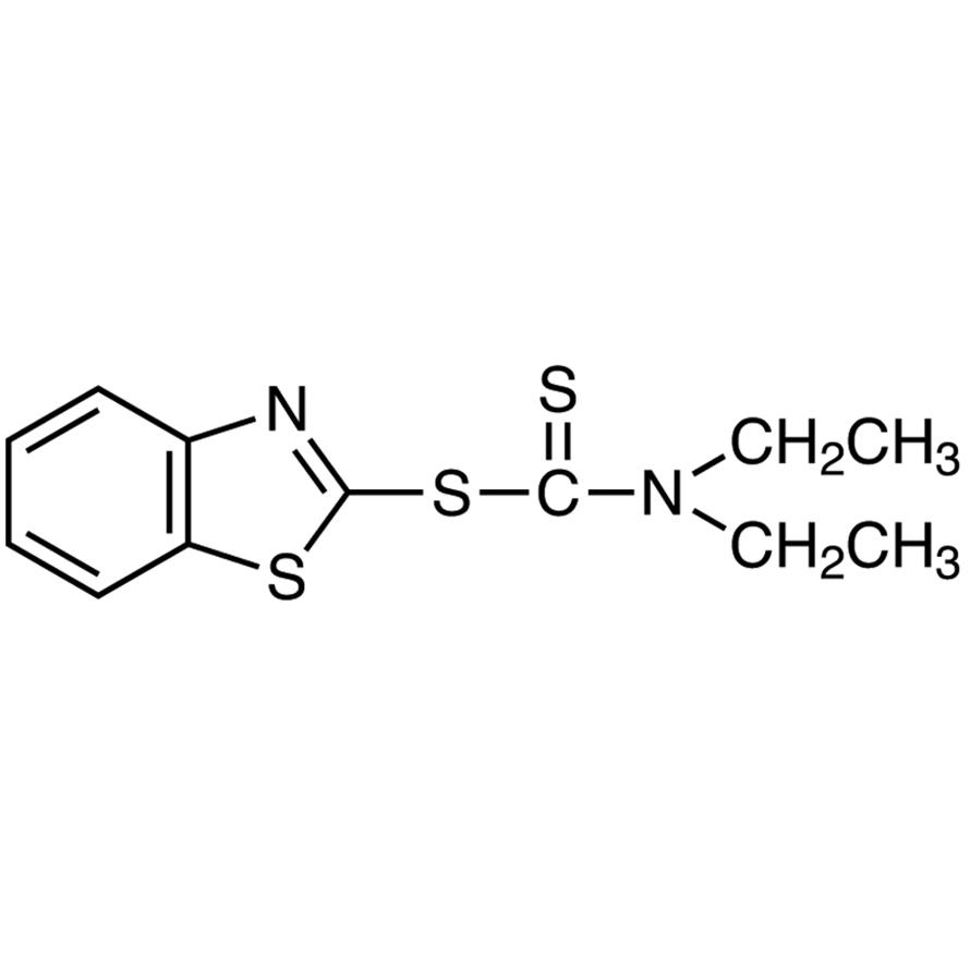 2-Benzothiazolyl Diethyldithiocarbamate