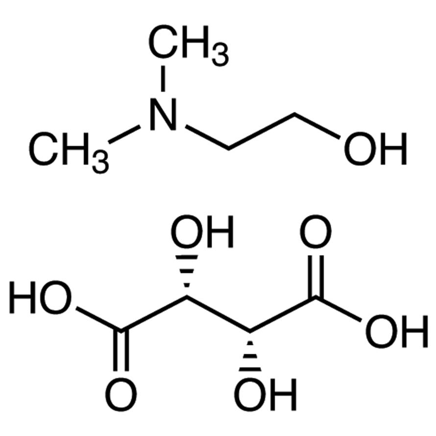 2-(Dimethylamino)ethanol Hydrogen L-(+)-Tartrate