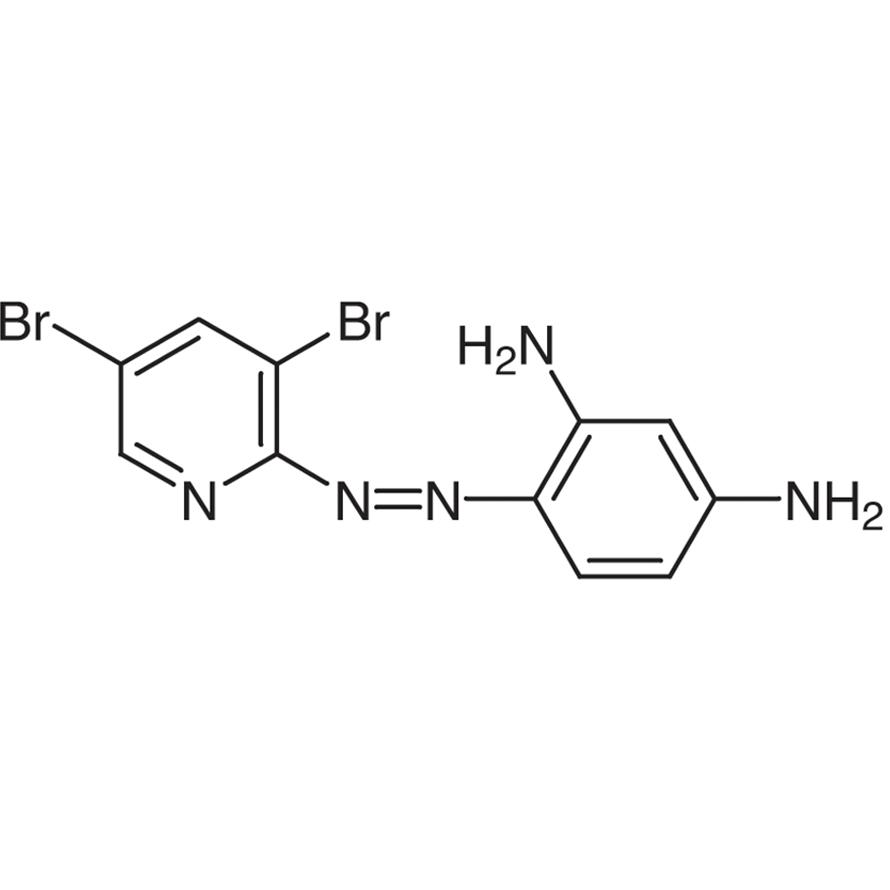 4-(3,5-Dibromo-2-pyridylazo)-1,3-phenylenediamine [for Colorimetric Analysis of Co, Cd]