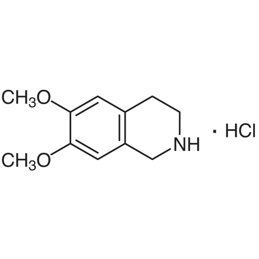 6,7-Dimethoxy-1,2,3,4-tetrahydroisoquinoline Hydrochloride