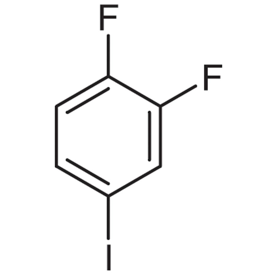 1,2-Difluoro-4-iodobenzene (stabilized with Copper chip)