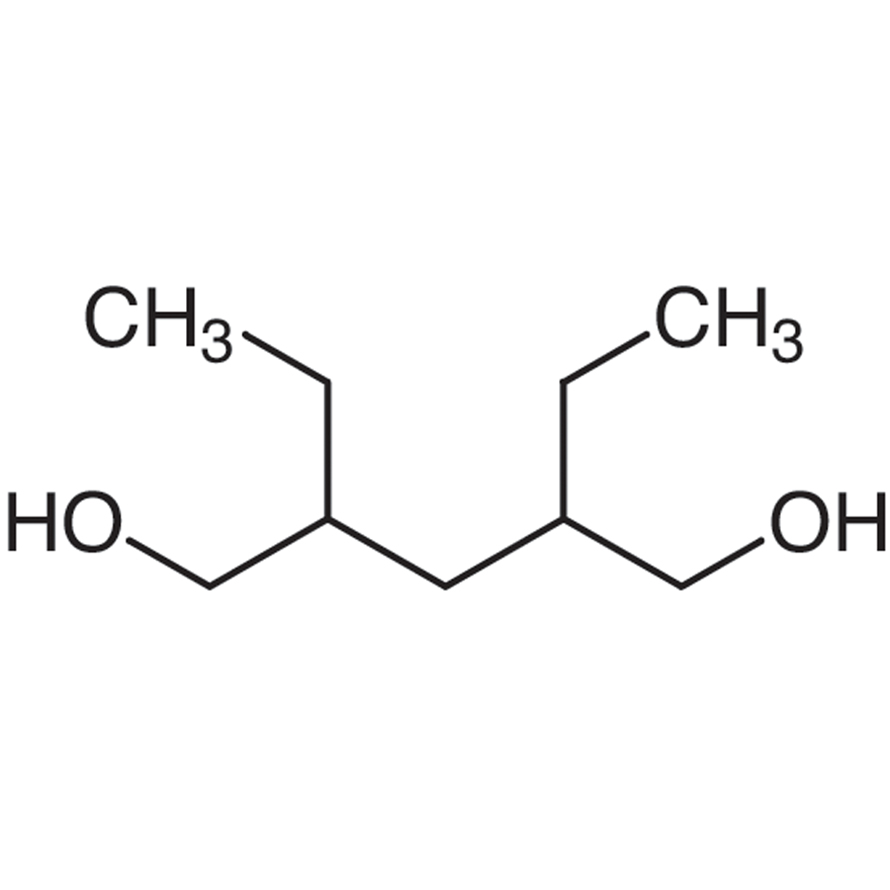 2,4-Diethyl-1,5-pentanediol (DL- and meso- mixture)