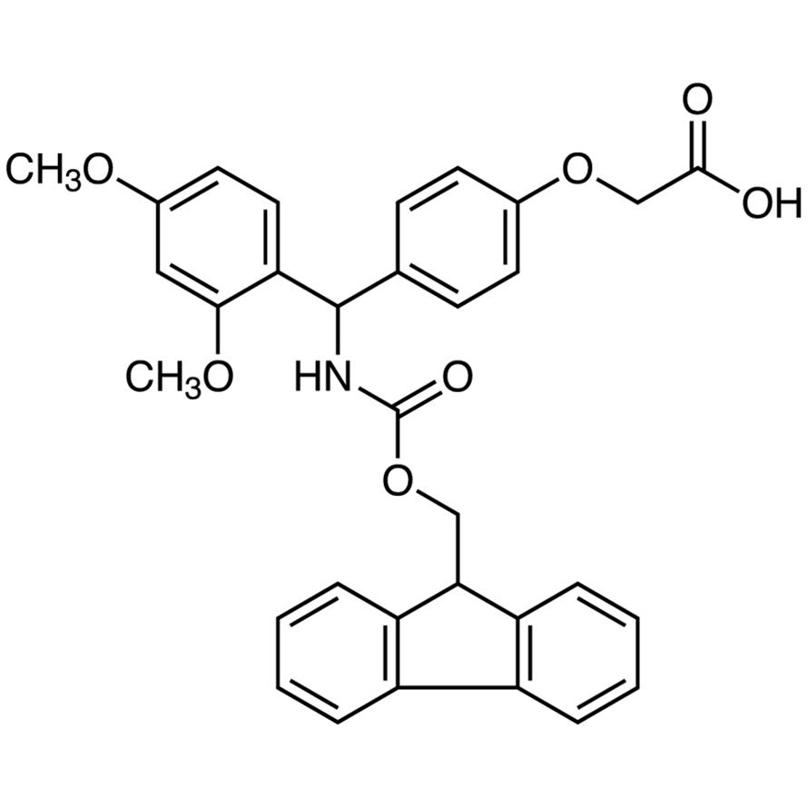 4-[(2,4-Dimethoxyphenyl)[(9H-fluoren-9-ylmethoxy)carbonylamino]methyl]phenoxyacetic Acid
