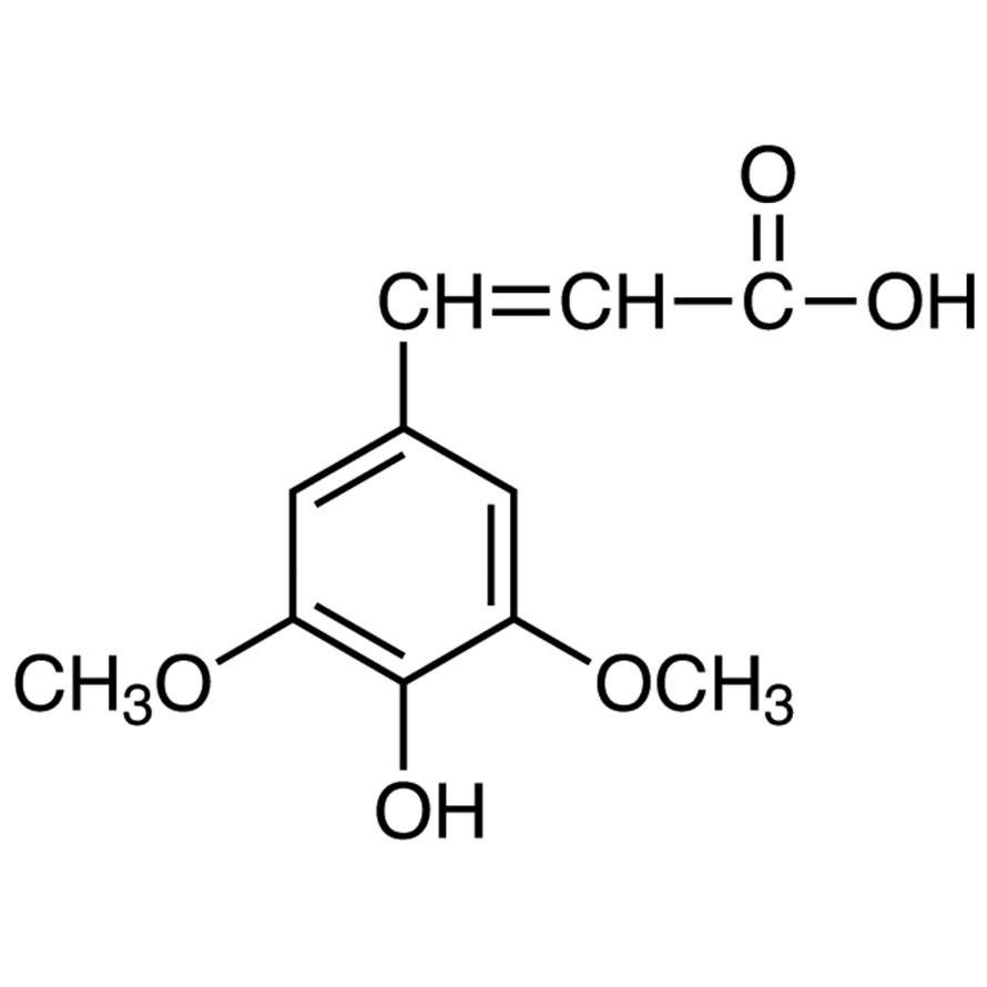 3,5-Dimethoxy-4-hydroxycinnamic Acid [Matrix for MALDI-TOF/MS]