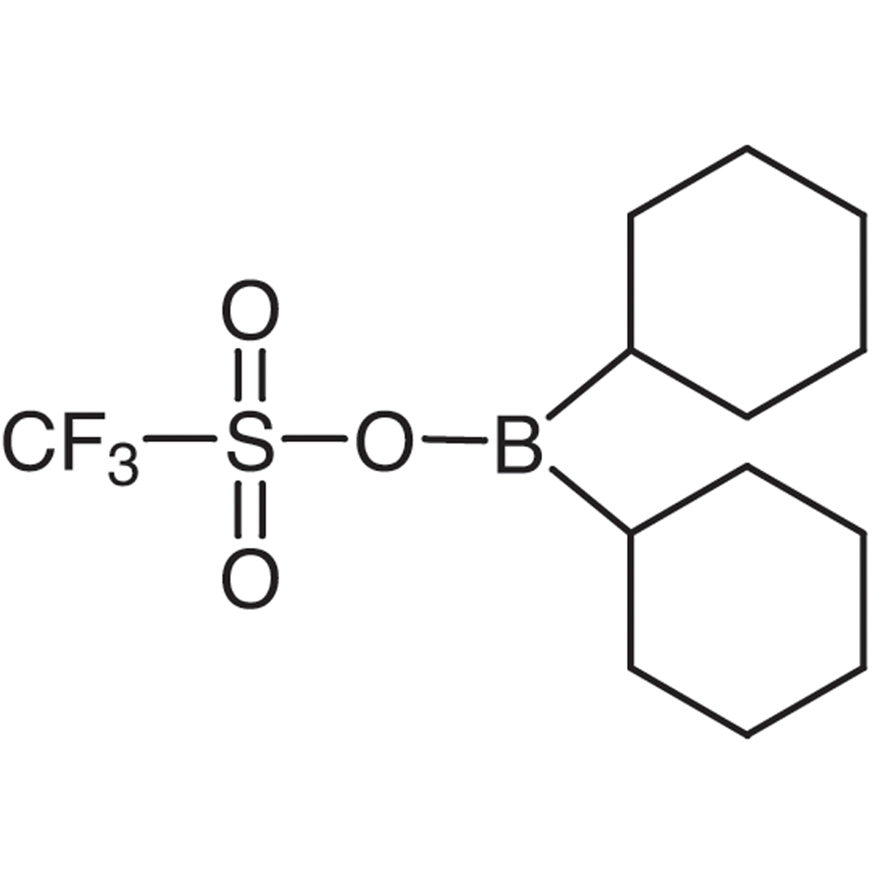 Dicyclohexyl(trifluoromethanesulfonyloxy)borane