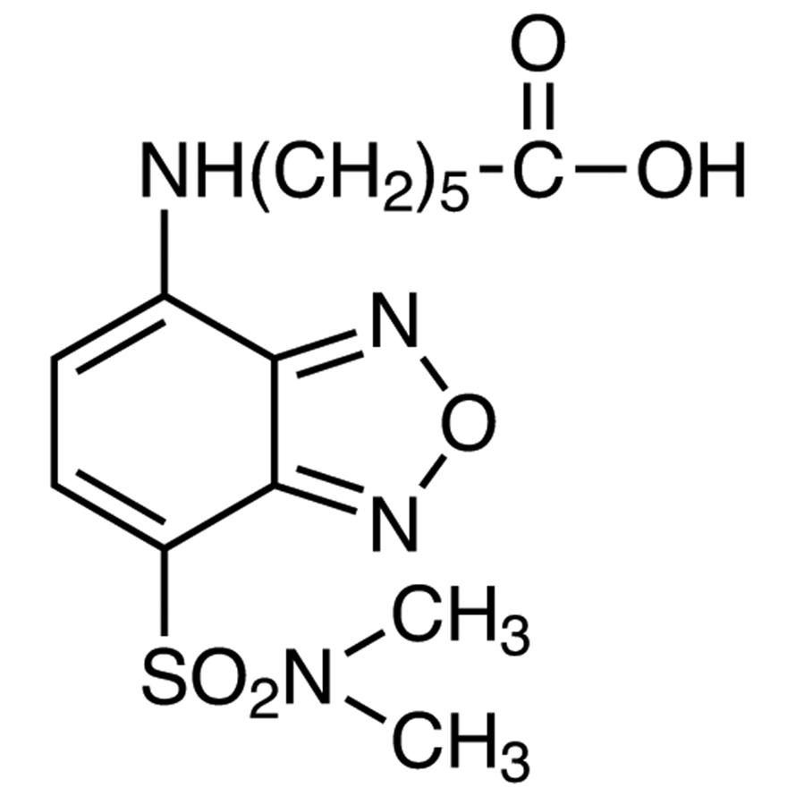 6-[[7-(N,N-Dimethylaminosulfonyl)-2,1,3-benzoxadiazol-4-yl]amino]hexanoic Acid