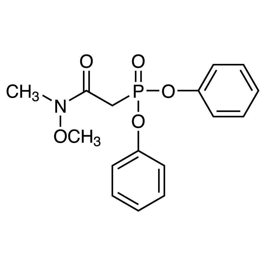 Diphenyl (N-Methoxy-N-methylcarbamoylmethyl)phosphonate