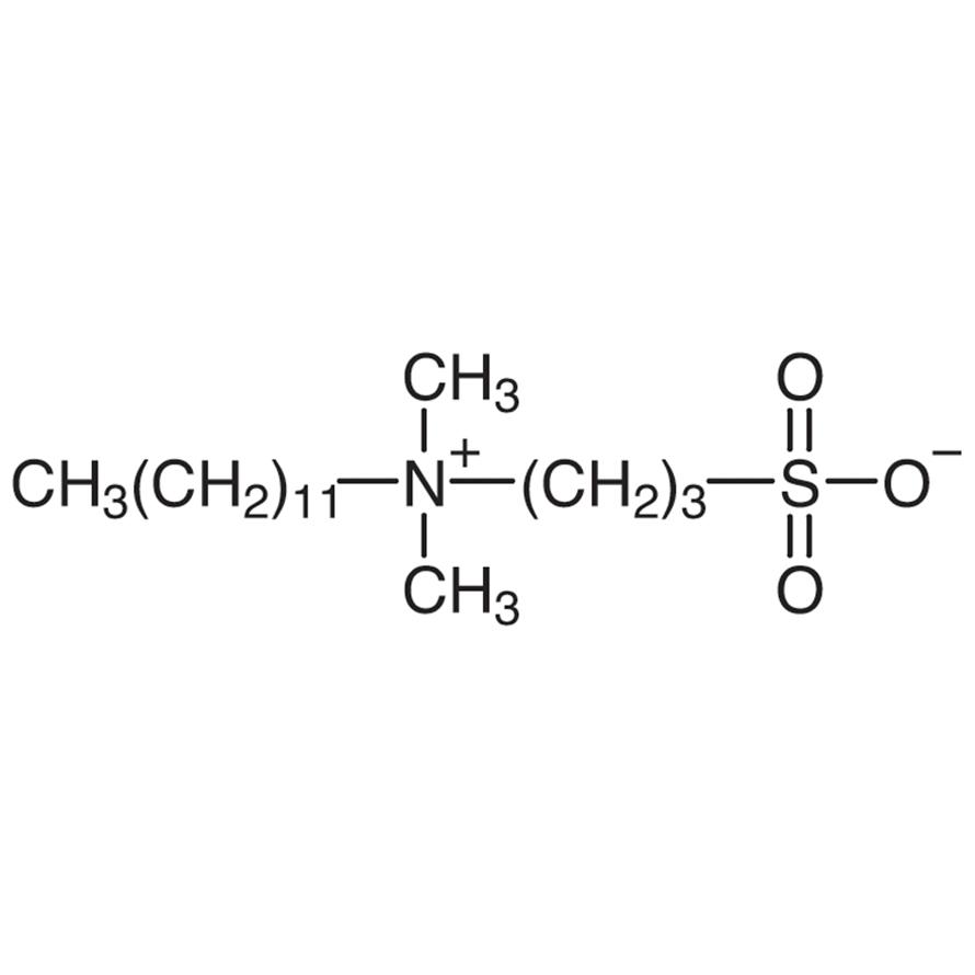Dodecyldimethyl(3-sulfopropyl)ammonium Hydroxide Inner Salt [for Biochemical Research]