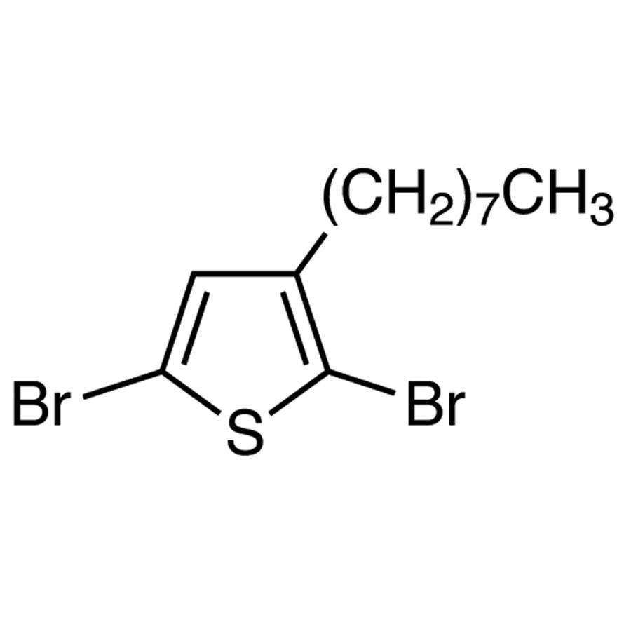 2,5-Dibromo-3-n-octylthiophene
