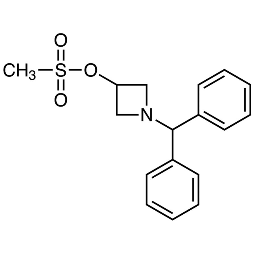 1-Benzhydryl-3-azetidinyl Methanesulfonate