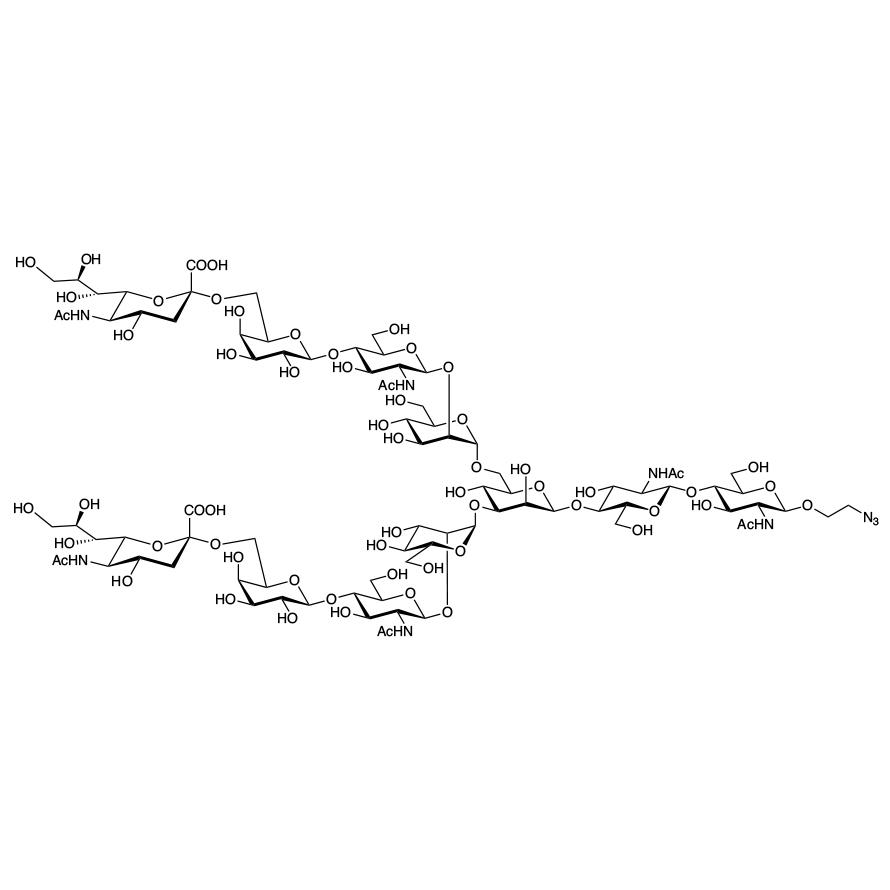 Disialylnonasaccharide--ethylazide