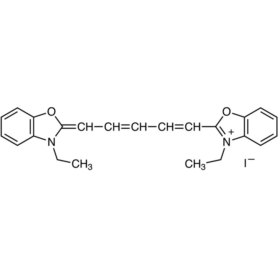 3,3'-Diethyloxadicarbocyanine Iodide