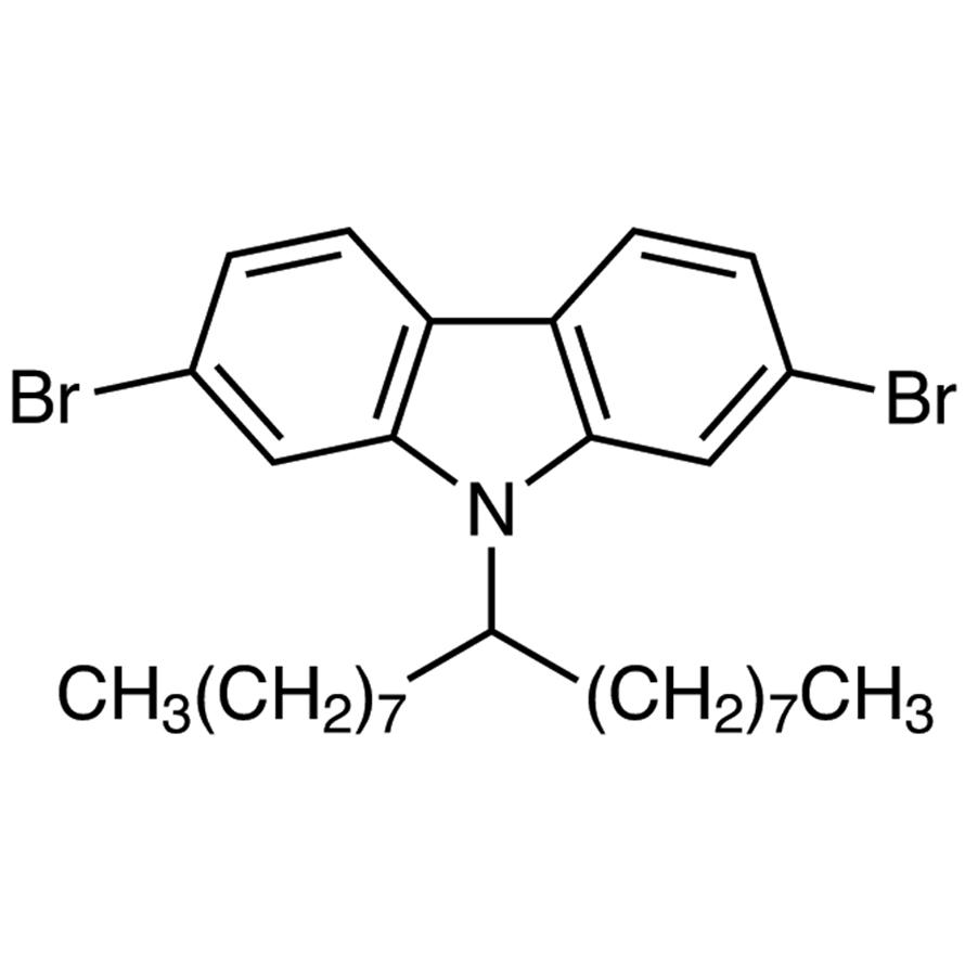 2,7-Dibromo-9-(9-heptadecyl)carbazole