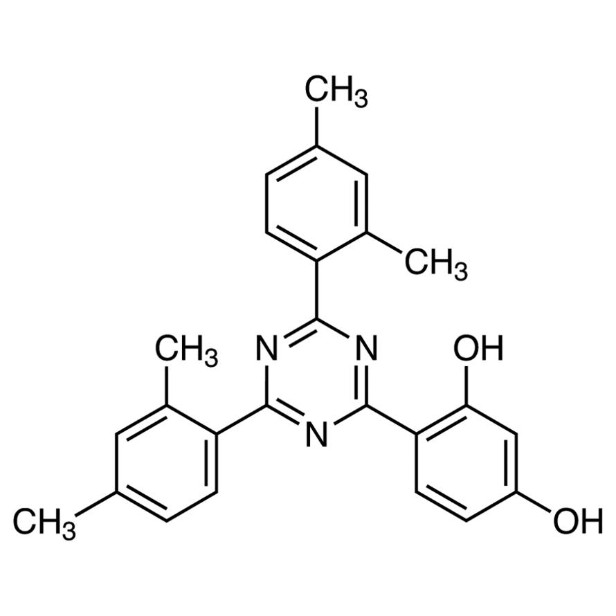 2-(2,4-Dihydroxyphenyl)-4,6-bis(2,4-dimethylphenyl)-1,3,5-triazine